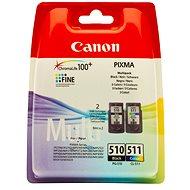 Canon PG-510 + CL-511 multipack černá, barevná