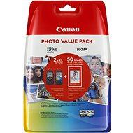 Canon PG-540XL + CL-541XL + fotopapír GP-501