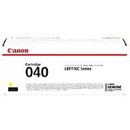 Canon CRG-040 žlutá
