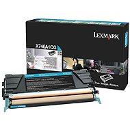 LEXMARK X746A1CG azurový
