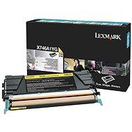 LEXMARK X746A1YG žlutý