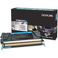 LEXMARK C746A1CG azurový