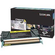 LEXMARK C746A1YG žlutý