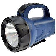 Solight nabíjecí LED svítilna černomodrá