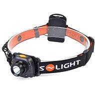 Solight čelová LED svítilna, 3W Cree, senzor