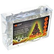 Solight LED řetěz hvězdy 10 LED, bílá