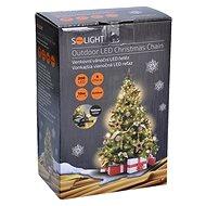 Solight LED venkovní řetěz 200 LED, teplá bílá