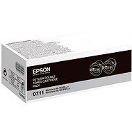Epson S050711 černý 2ks