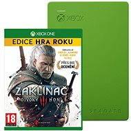 Seagate Xbox Gaming Drive 4TB + Zaklínač 3: Divoký hon - GOTY Edice pro Xbox One