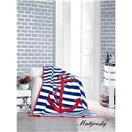 MATĚJOVSKÝ Bavlněná deka Kotva