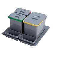 Sinks PRACTIKO 600 1x12l+2x5l+2xmiska