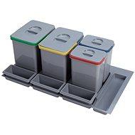 Sinks PRACTIKO 900 2x15l+2x7l+3xmiska