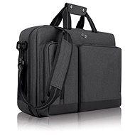 "Solo Duane Hybrid Briefcase Gray 15.6"""