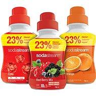 SodaStream Pomeranč/Cola/Lesní plody