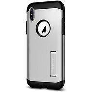 Spigen Slim Armor Silver iPhone X