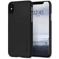Spigen Thin Fit Black iPhone X