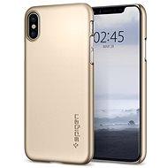 Spigen Thin Fit Gold iPhone X