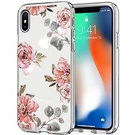 Spigen Liquid Crystal Aquarelle Rose iPhone X