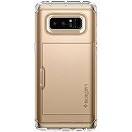 Spigen Crystal Wallet Gold Samsung Galaxy Note 8
