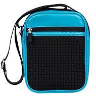 Pixelová taška na rameno 18 blue