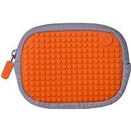 Pixelová kapsička oranžová 06