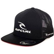 Rip Curl Rip Team Flat Trucker Cap Black Tu