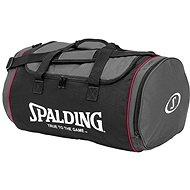 Spalding Tube Sport bag 50 l vel. M černo/růžová
