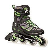 Rollerblade Macroblade 90 B/G černo/zelené UK 10,5 (EU 45)