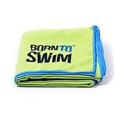 Born To Swim z mikrovlákna zelený