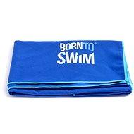 Born To Swim z mikrovlákna modrý