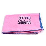 Born To Swim z mikrovlákna růžový