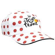 Tour de France bílá s puntíky
