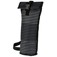 PackIt Wine Bag pruhovaný šedý