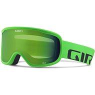 GIRO Cruz Bright Green Word Mark Loden Green