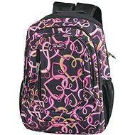 Spokey Školní batoh Pink tiger