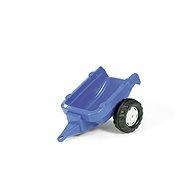 Vlečka za traktor 1osá - modrá