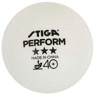Stiga Perform ***, ITTF, bílé, 3 ks