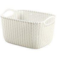 Curver Knit košík kulatý 8L krémový