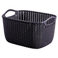 Curver Knit košík kulatý 8L fialový