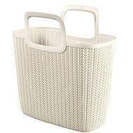 Curver Knit Shopping bag krémová
