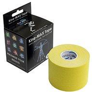 KineMAX Classic kinesiology tape žlutá