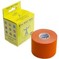 KineMAX SuperPro Cotton kinesiology tape oranžová