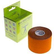 KineMAX SuperPro Rayon kinesiology tape oranžová