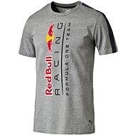 Puma RBR Logo Tee Medium Gray Heath XXL