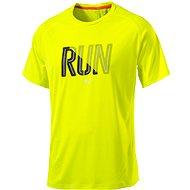 Puma Run S S Tee Safety Yellow S