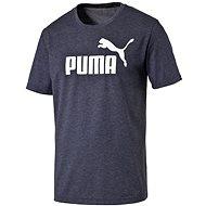 Puma ESS No.1 Heather Tee Peacoat-h XXL