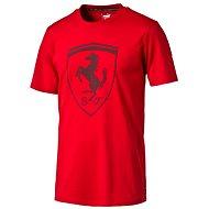 Puma Ferrari Big Shield Tee Rosso C XS