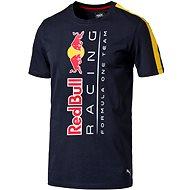 Puma RBR Logo Tee Total Eclipse XL
