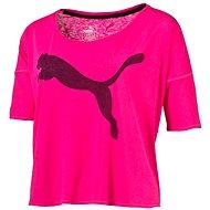 Puma The Good Life Tee Pink Glo XS