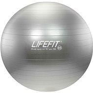 Lifefit anti-burst 65 cm, stříbrný